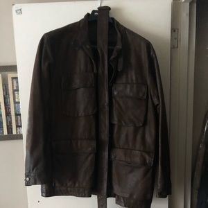 Polo by Ralph Lauren Genuine Leather Jacket